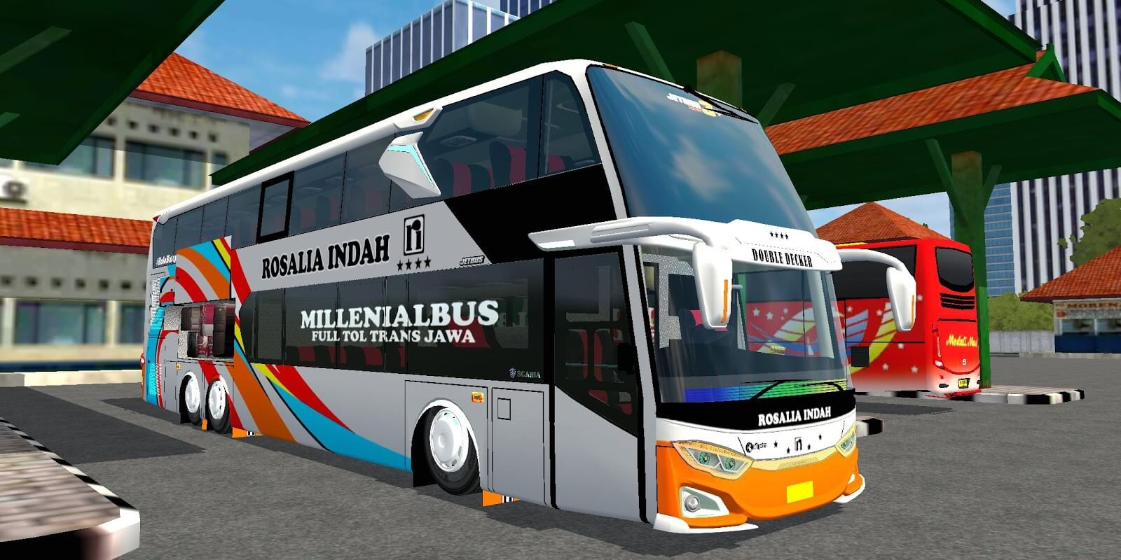 JetBus3+ SDD Voyager Mod BUSSID, Mod BUSSID JetBus3+ SDD Voyager, Mdo JetBus3+ SDD Voyager BUSSID, BUSSID Bus Mod, JB3+ SDD Voyager bus mod BUSSID, SGCArena, Md Creation