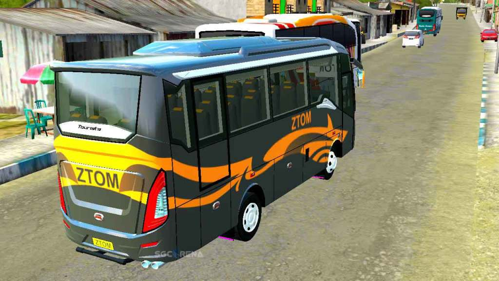 Tourista MiniBus Mod for BUSSID from SGCArena