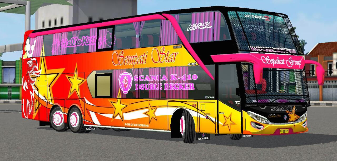 Download Update JB2+ SDD Bus Mod BUSSID by MD Creation from SGCArena. BUSSID Bus Mod