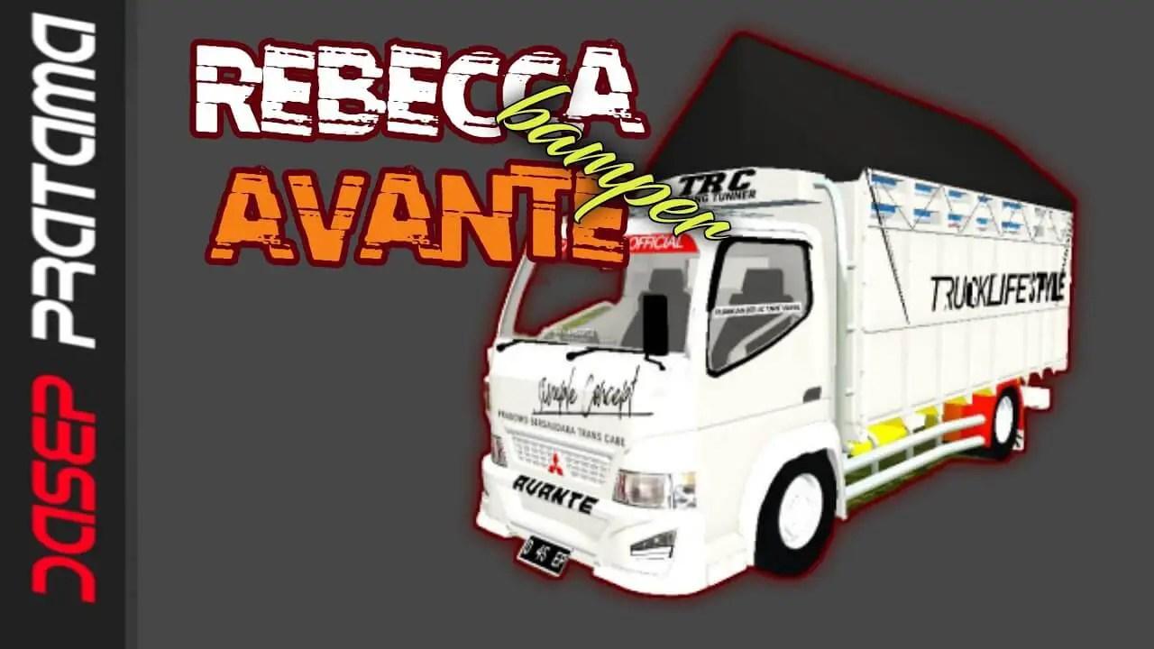 Download Rebecca Bamper Avante Truck Mod BUSSID from SGCArena