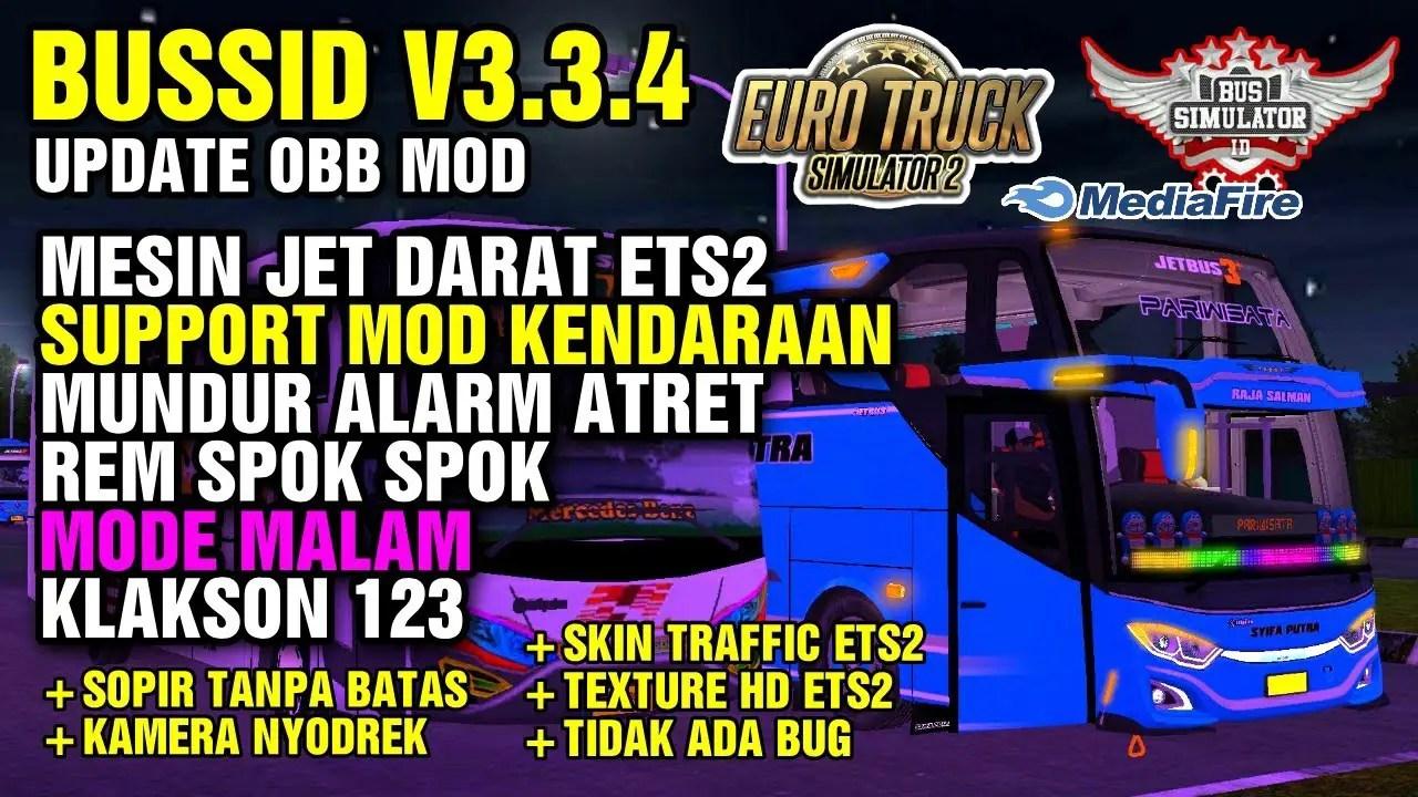 Download BUSSID V3.3.4 Obb Mod: SOUND JET DARAT ETS2, , BUSSID Obb, BUSSID OBB Mod, Ilhamss TV, Obb Mod BUSSID