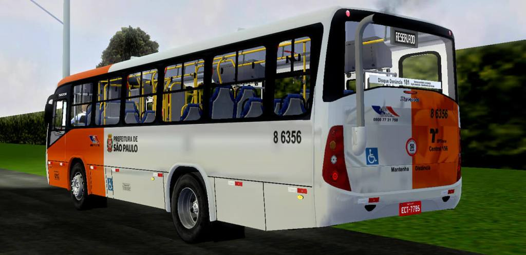 Senior Marcopolo Midi Agrale MA 15.0   SPTrans Standard Mod for Proton Bus, PBS Bus Mod, Proton Bus Mod, SGCArena