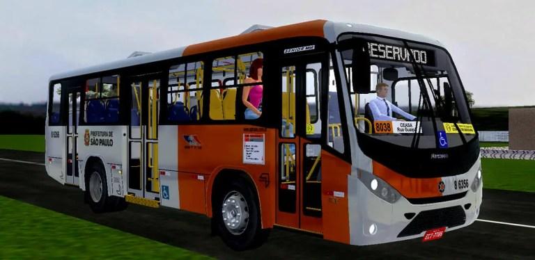 Senior Marcopolo Midi Agrale MA 15.0 | SPTrans Standard Mod for Proton Bus