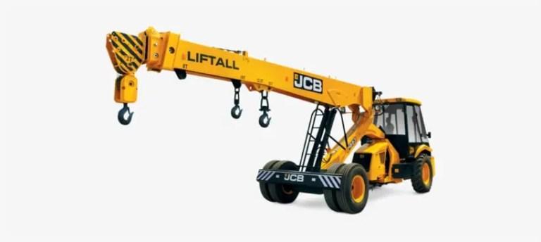 JCB Crane Mod for BUSSID