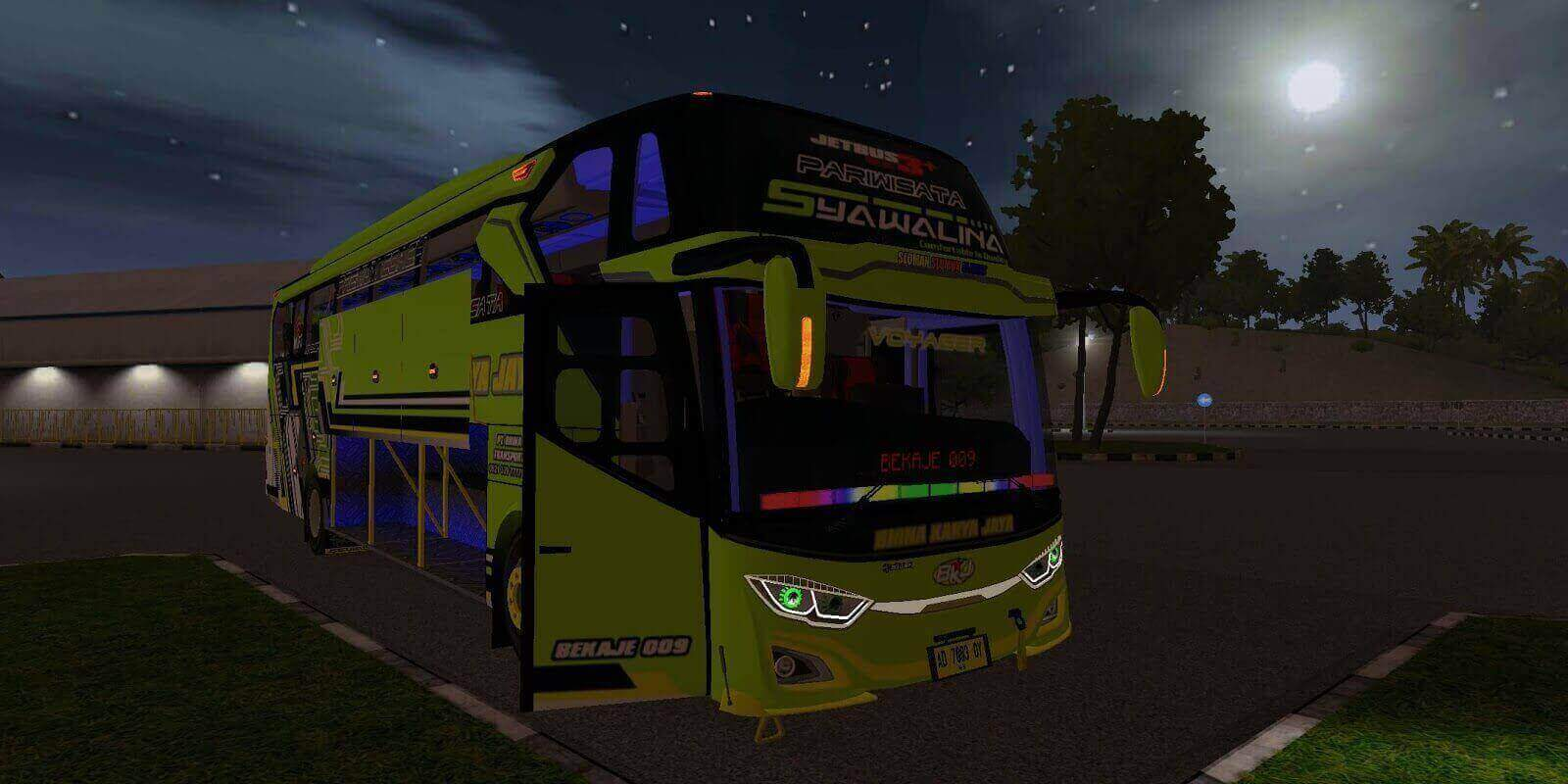 Jetbus 3+ Hino Angga Saputro, Jetbus 3+ Hino Mod BUSSID, Mod Jetbus 3+ Hino BUSSID, BUSSID Mod Jetbus 3+ Hino, BUSSID Bus Mod