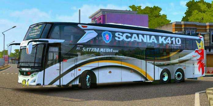 Jetbus 3+ Voyager Scania K410 Bus Mod BUSSID, Jetbus 3+ Voyager Scania K410 Mod, BUSSID Mod Jetbus 3+ Voyager Scania K410, MD Creation