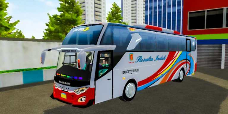 JetBus 3+ Bus Mod for Bus Simulator Indonesia
