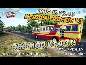 Kerala Traffic V3 Obb Mod, Kerala Traffic Mod V3, BUSSID Indian Obb Mod, Indian Traffic Mod BUSSID, BUSSID Obb Mod, Team KBR