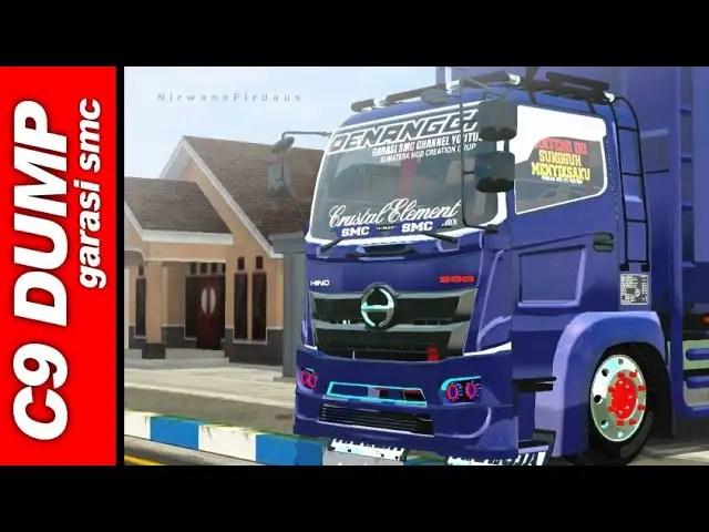Hino C9 Mod BUSSID, Truck Mod Hino C9 BUSSI, BUSSID Truck Mod, Hino Truck Mod BUSSID