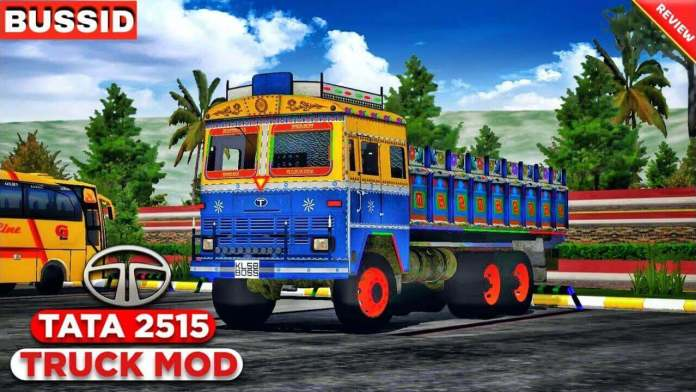 Download Tata NP 2515 Truck Mod for BUSSID from SGCArena, BUSSID Truck Mod
