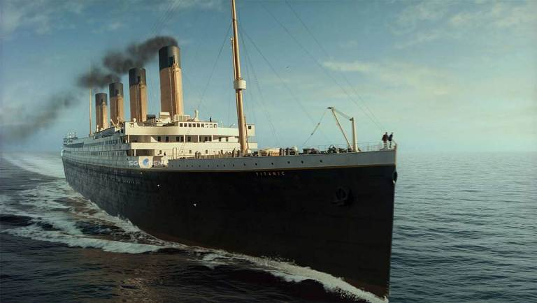 Titanic Ship Mod for BUSSID
