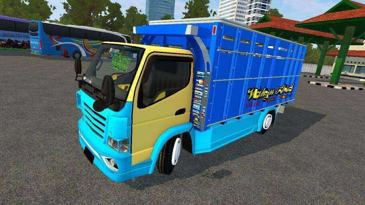 Download Wahyu Abadi Truck Mod for BUSSID, Wahyu Abadi, ADS, BUSSID Truck Mod, BUSSID Vehicle Mod