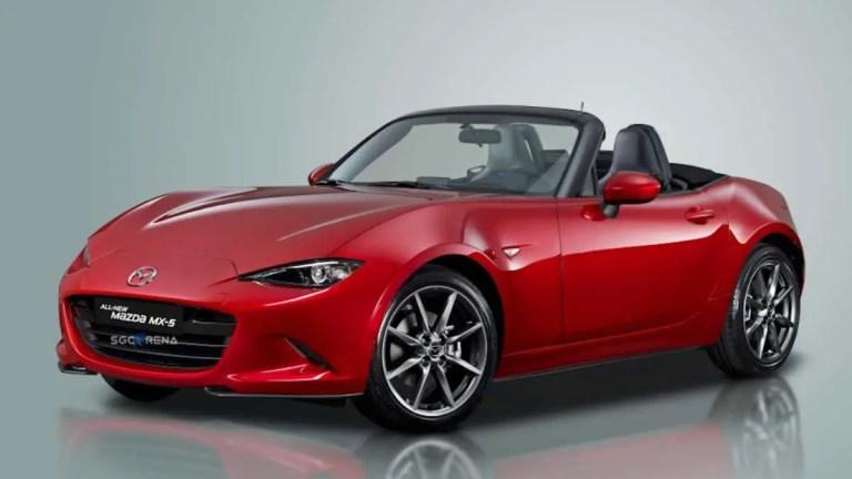 Mazda MX-5 Car Mod for BUSSID