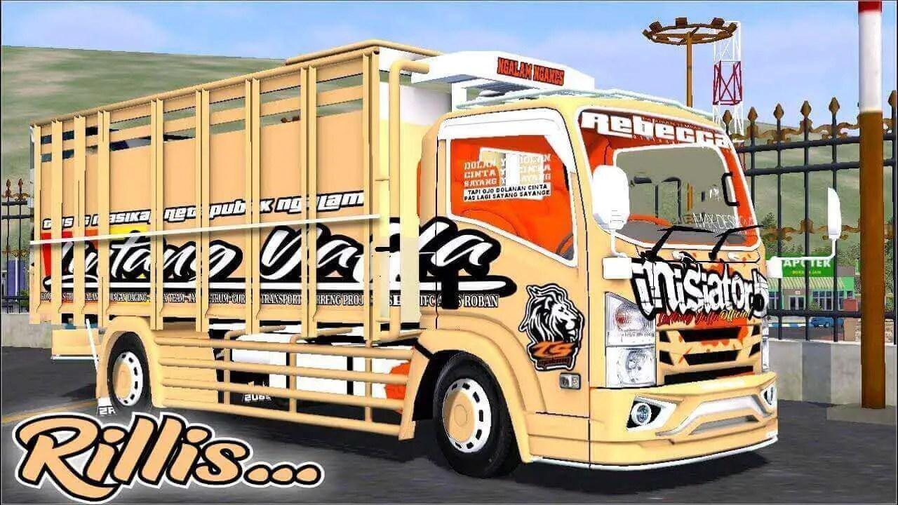 Download Isuzu NMR 71 Truck Mod for BUSSID, Isuzu NMR 71, BUSSID Truck Mod, BUSSID Vehicle Mod, NMR71 Mod BUSSID, Souleh Art