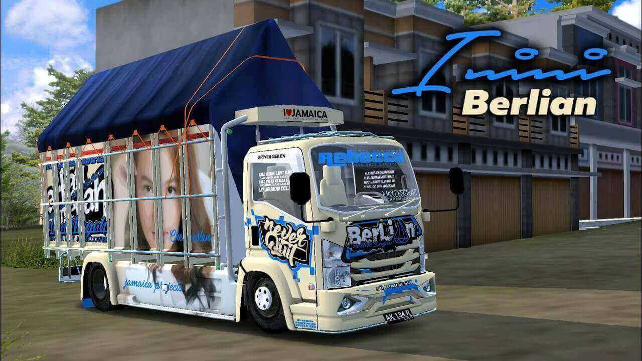 Download NMR 71 Update Truck Mod for BUSSID, NMR 71, BUSSID Truck Mod, BUSSID Vehicle Mod, NMR71 Mod BUSSID