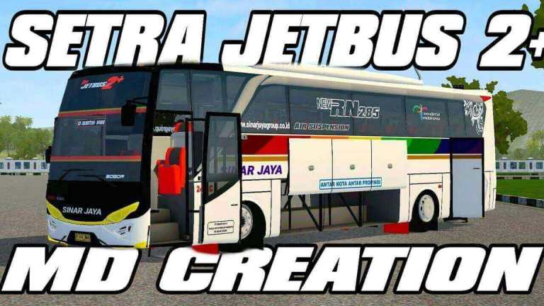 Setra Jetbus 2+ HD Bus Mod for BUSSID