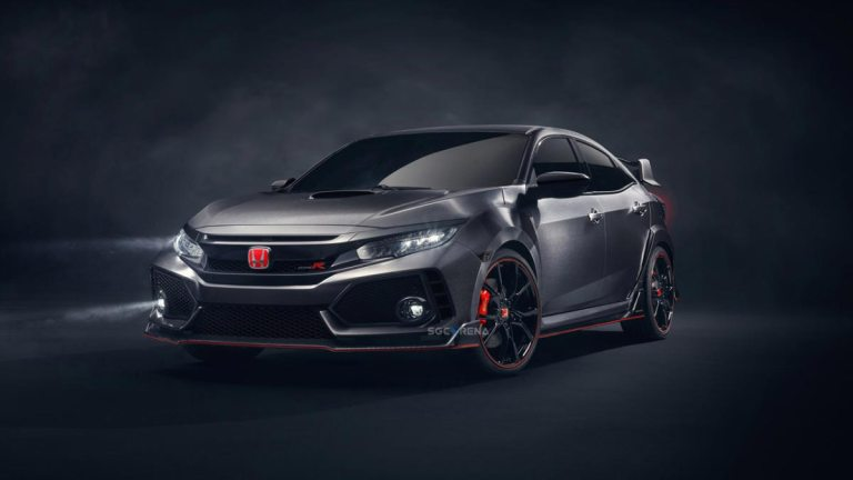 2017 Honda Civic Type R Car Mod for BUSSID