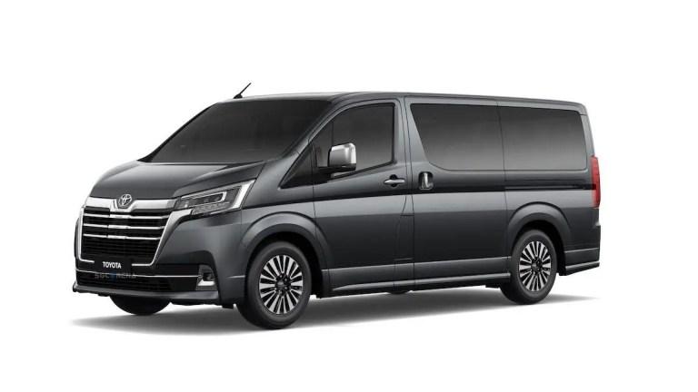 Toyota Hiace Premio 2020 Car Mod for BUSSID