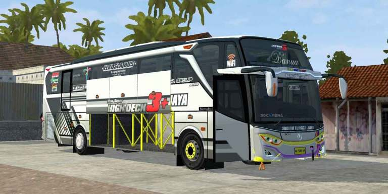 JetBus 3+ MHD Bus Mod for BUSSID