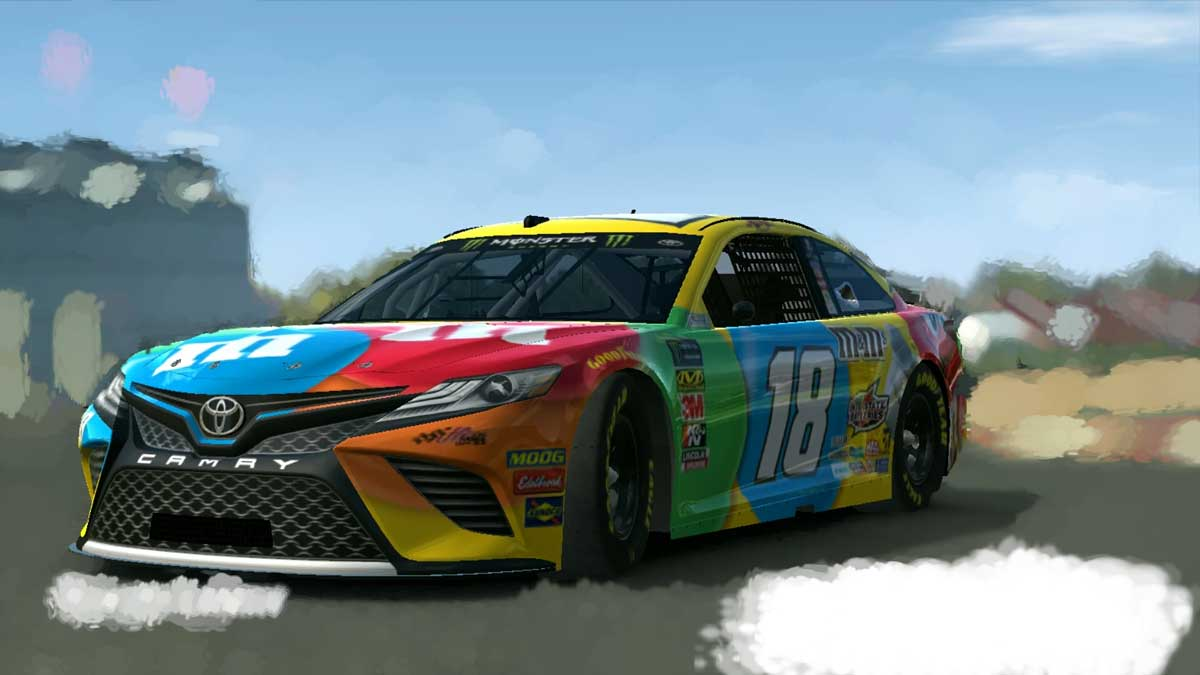 Download Toyota Camry Nascar 2019 Car Mod for BUSSID, Toyota Camry Nascar 2019 Car Mod, BUSSID Car Mod, BUSSID Vehicle Mod, MAH Channel, Toyota