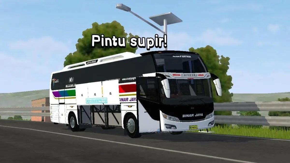 Download Update BUSSID V3.5 Jetliner Bus Mod, Jetliner Bus Mod, BUSSID Bus Mod, BUSSID Vehicle Mod, Jetliner, Sahrul Ramdani