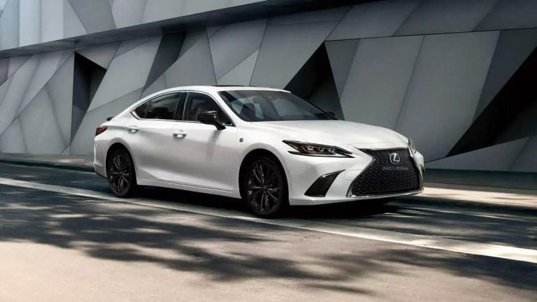 Lexus ES 2021 Car Mod for BUSSID