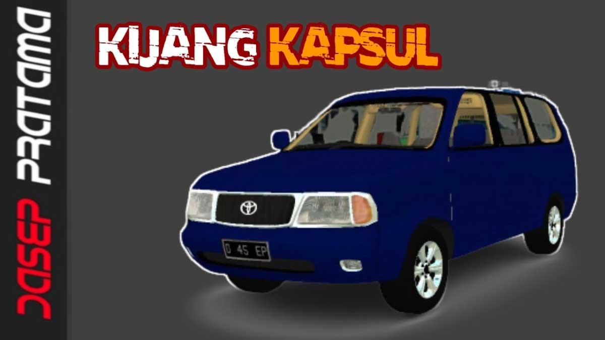 Download Toyota Kijang Kapsul Car Mod for BUSSID, Toyota Kijang Kapsul Car Mod, BUSSID Car Mod, BUSSID Vehicle Mod, MAH Channel, Toyota