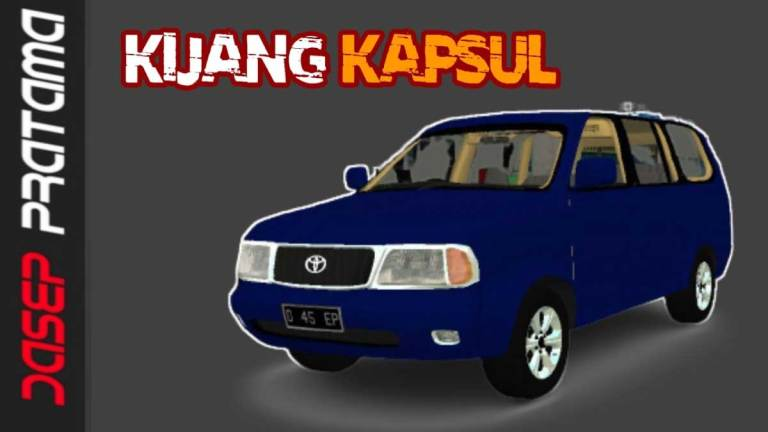 Toyota Kijang Kapsul Car Mod for BUSSID