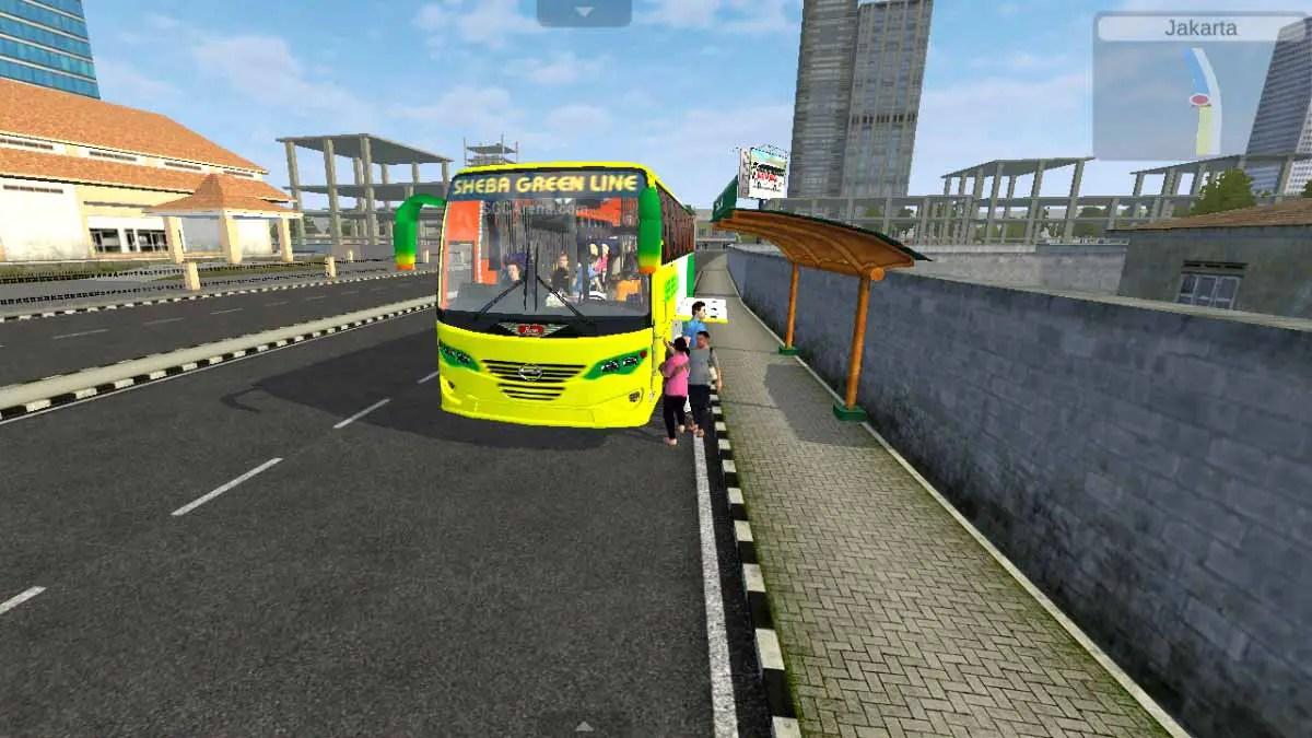 Download Hino AK1J Aftab New Body Bus Mod for BUSSID, Hino AK1J Aftab, BD Bus Mod, BUSSID Bus Mod, BUSSID Vehicle Mod, Hino, Hino 1J, SA Safin Ali