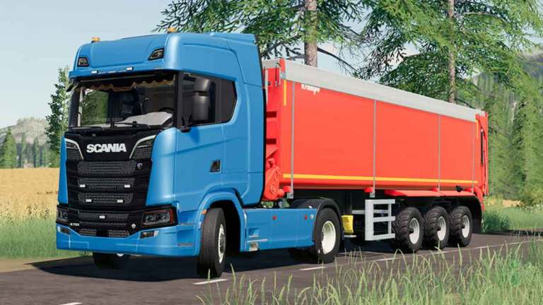 Scania S730 Truck Mod for Bus Simulator Indonesia