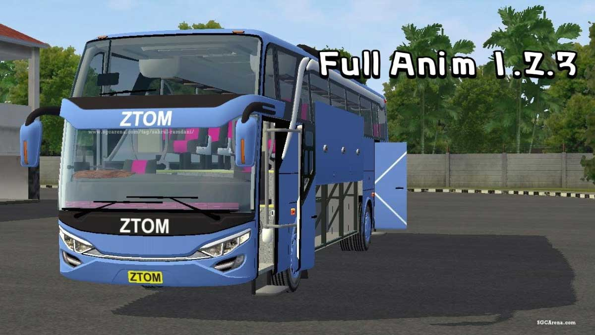 Download JetBus2 SHD Hino Bus Mod for Bus Simulator Indonesia, JetBus2 SHD Hino Bus Mod, BUSSID Bus Mod, BUSSID Vehicle Mod, JB3 SHD bus Mod, Sahrul Ramdani
