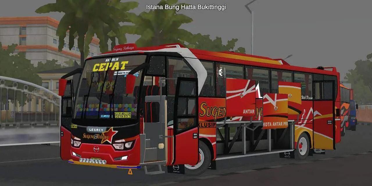 Download Laksana Legacy SR1 Limited Edition V2 Bus Mod for BUSSID, Laksana Legacy SR1, BUSSID Bus Mod, Laksamana Bus Mod, Mulil, SR1 Bus Mod