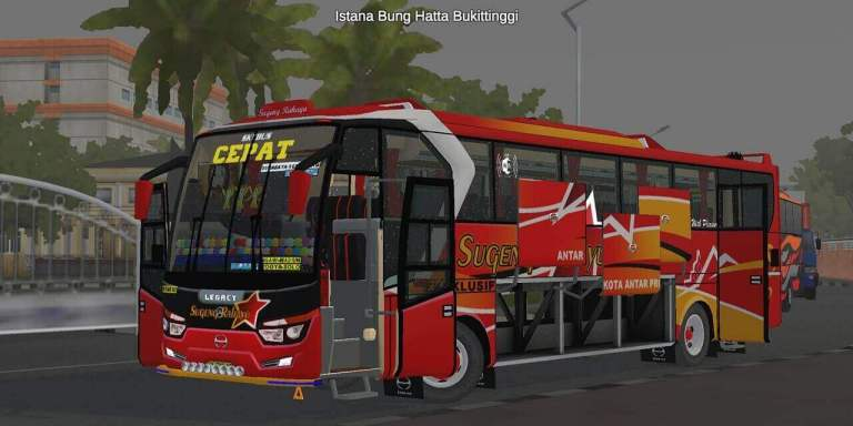 Laksana Legacy SR1 Limited Edition V2 Bus Mod for BUSSID