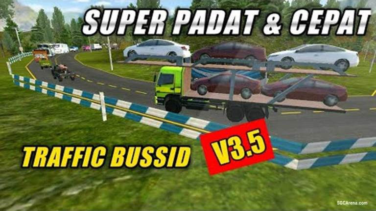 BUSSID V3.5 Super Density And Strong Traffic Obb Mod