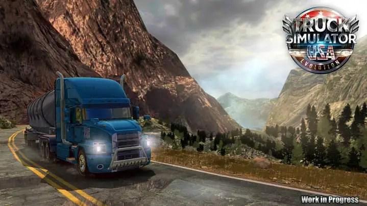 Download Truck Simulator USA Evolution Work In Process, , Ovilex, Truck Simulator USA Evolution