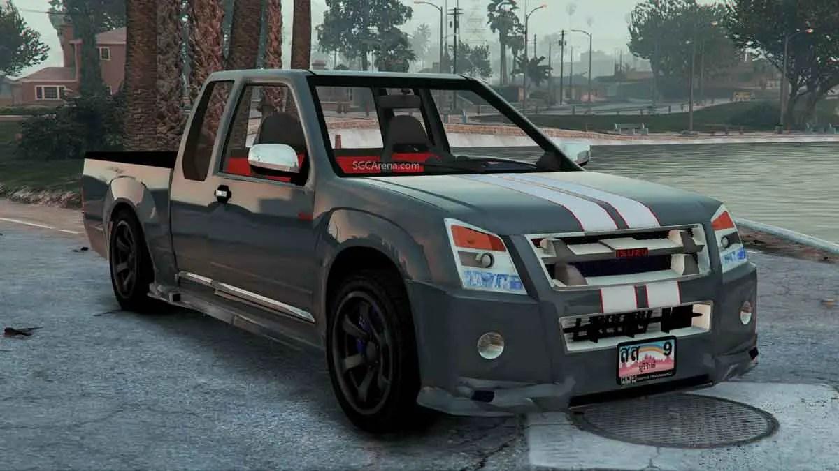 Download Isuzu D-Max Series Pickup Mod, Isuzu D-Max Series Pickup Mod, BUSSID Truck Mod, BUSSID Vehicle Mod, Isuzu, MAH Channel, PICKUP Mod BUSSID