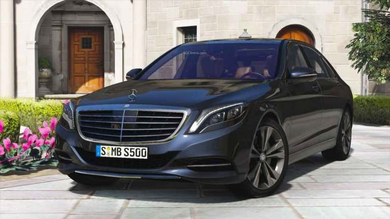 Mercedes-Benz S500 Car Mod for BUSSID