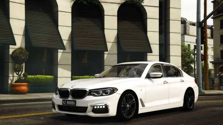 BMW 530i G30 M5 Performance Car Mod BUSSID
