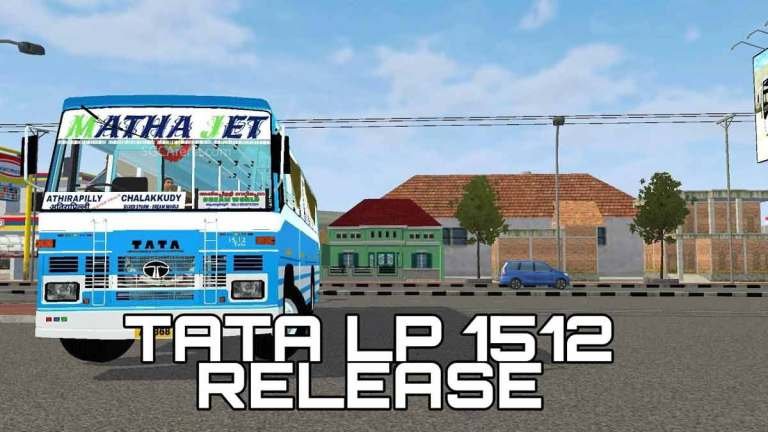 Tata LP 1512 Indian Bus Mod for BUSSID