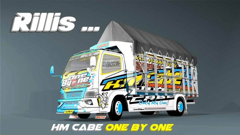 Canter HM Cabe One By One Truck Mod BUSSID