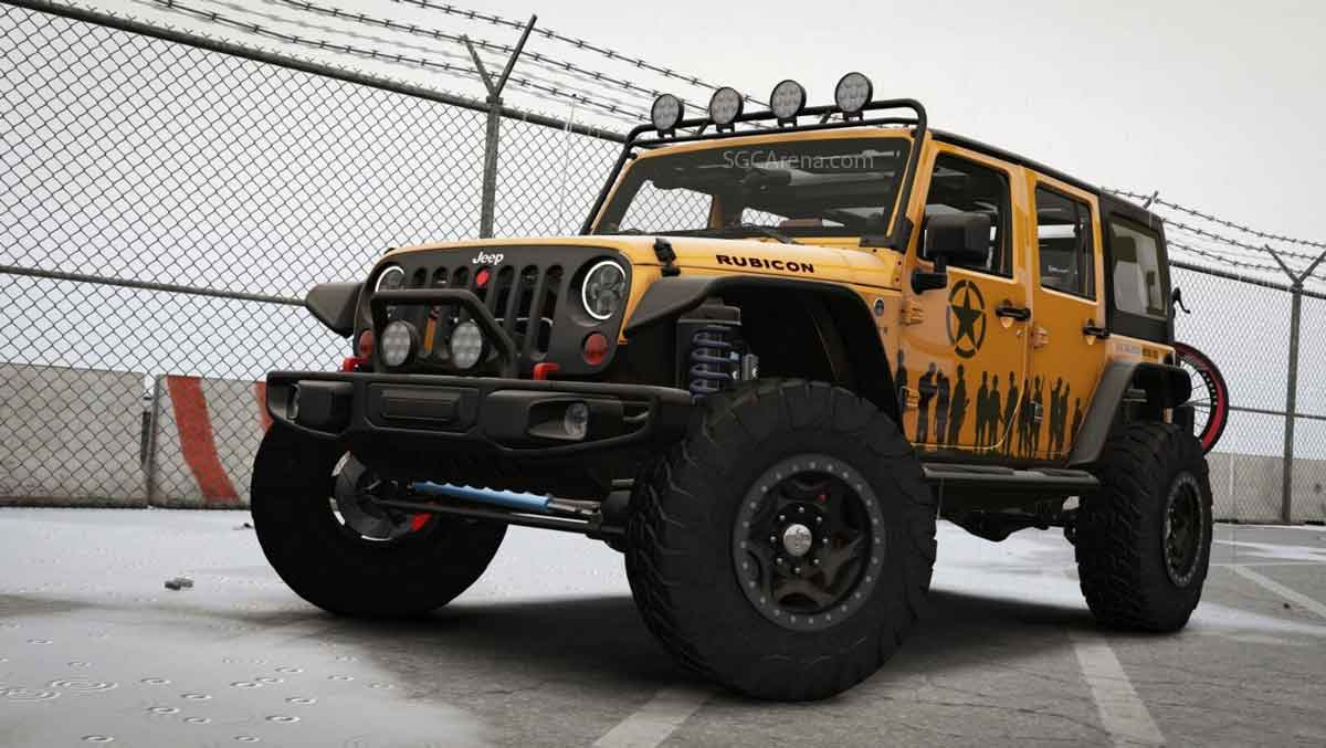Download Wrangler 2012 Rubicon Jeep Mod for BUSSID, Wrangler 2012 Rubicon Jeep Mod, BUSSID Car Mod, BUSSID Vehicle Mod, Jeep Mod for BUSSID, MAH Channel