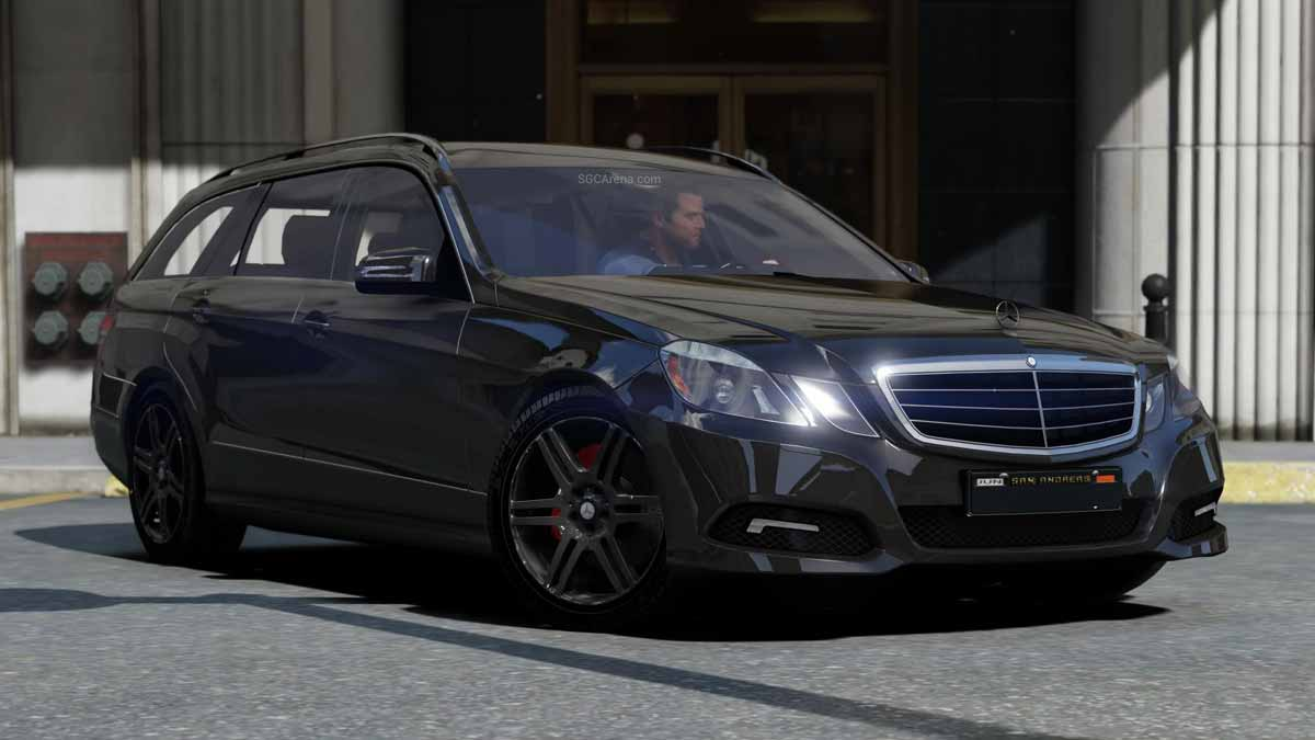 Download Mercedes-Benz E300 Estate Car Mod BUSSID, Mercedes-Benz E300 Estate Car Mod, BUSSID Car Mod, BUSSID Vehicle Mod, Luxury Car Mod, MAH Channel, Mercedes Benz