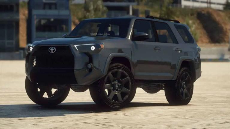 2020 Toyota 4Runner Car Mod BUSSID