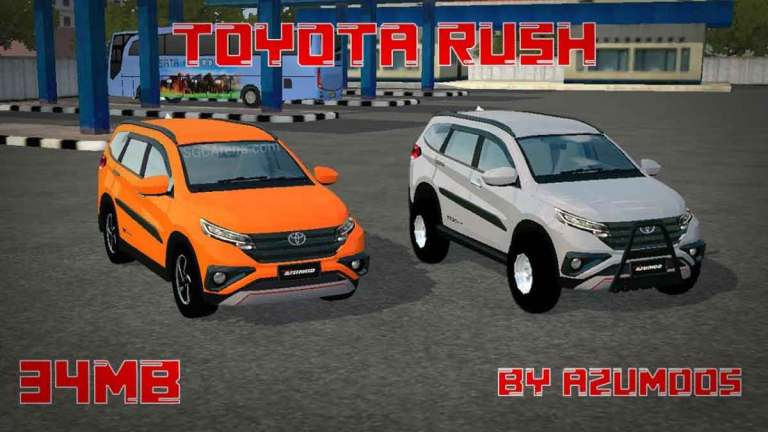 2021 Toyota Rush Car Mod for BUSSID