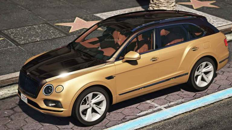 Bentley Bentayga Car Mod for BUSSID