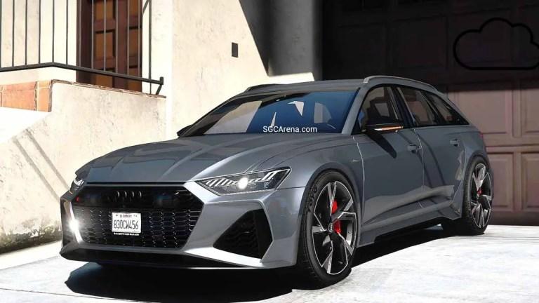2020 Audi RS6 Avant Car Mod for BUSSID