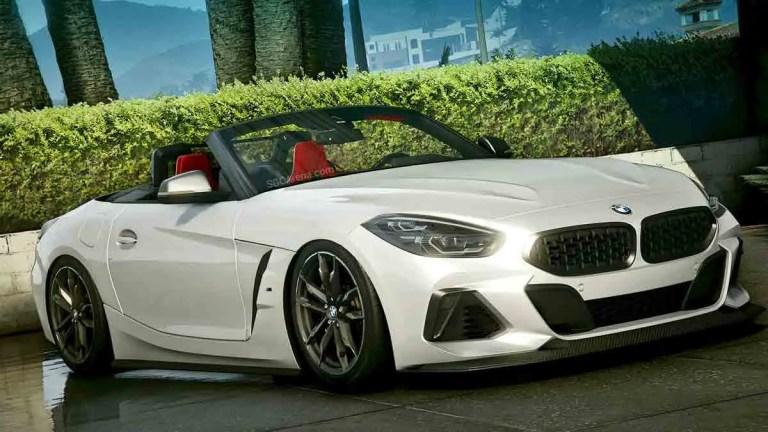 BMW Z4M Car Mod for BUSSID