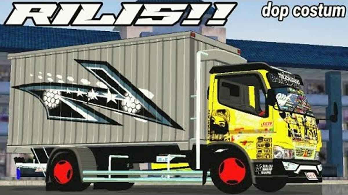 Download Canter Box Truck Mod for BUSSID, Canter Box Truck Mod, BUSSID Truck Mod, BUSSID Vehicle Mod, Canter Box, CJ Production