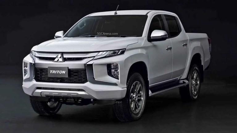 Mitsubishi L200 Triton 2019 Truck Mod for BUSSID