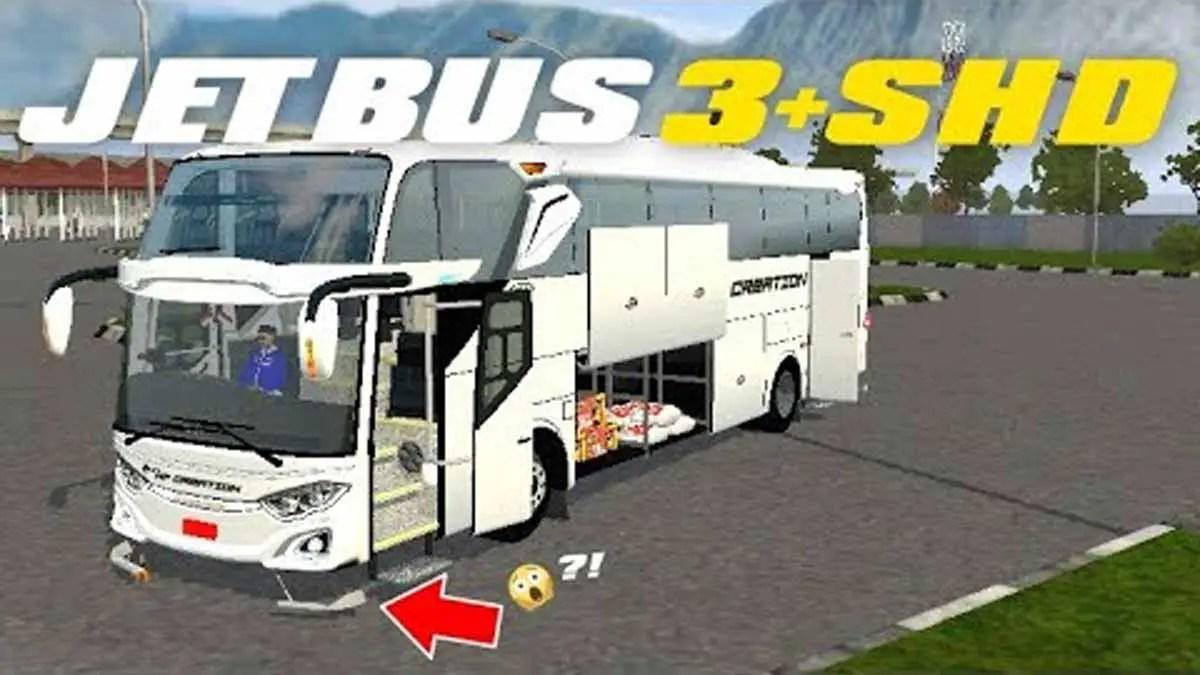 Download JetBus 3+ SHD Geprekk Bus Mod for BUSSID, JetBus 3+ SHD Geprekk Bus Mod, BUSSID Bus Mod, BUSSID Vehicle Mod, HF Project, JetBus3+, ZTOM